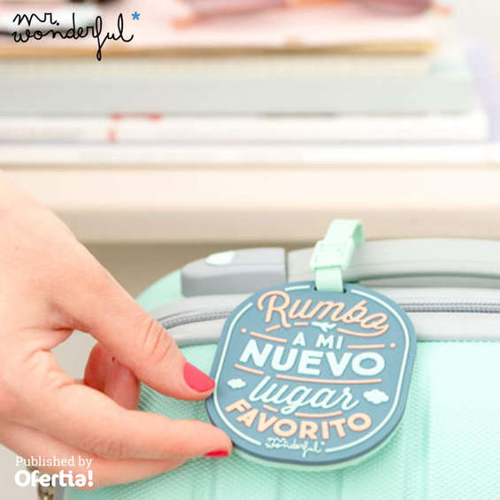 Ofertas de Mr Wonderful, Rumbo a mi nuevo lugar favorito