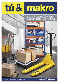 Especial Almacenaje y transporte Peninsula