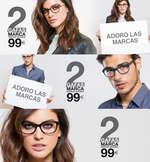 Ofertas de Opticalia, 2 gafas de marca