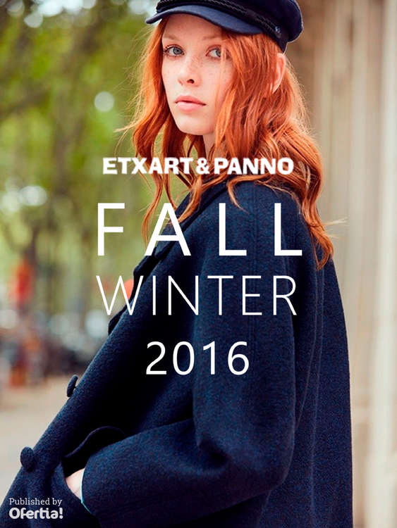 Ofertas de Etxart&Panno, Fall Winter 2016
