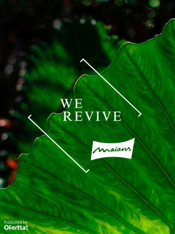 Ofertas de Maians, We Revive