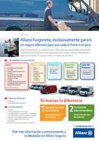 Ofertas de Allianz, Allianz Furgoneta