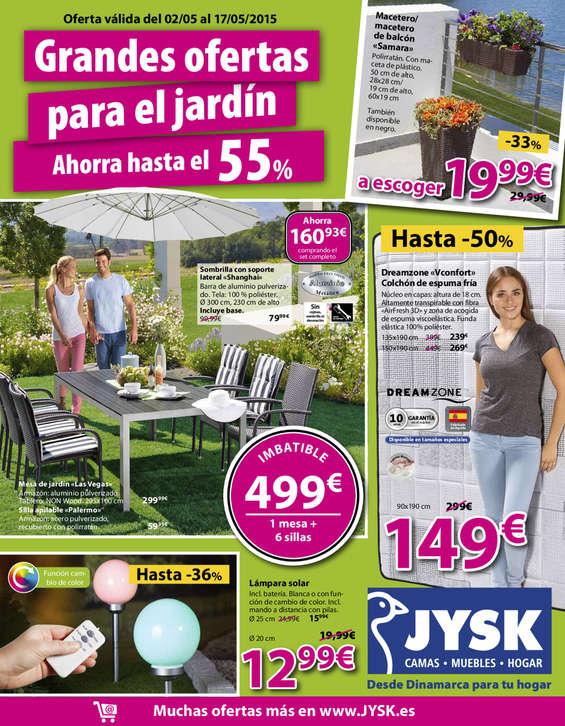 Ofertas de JYSK, Grandes ofertas para el jardín