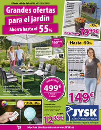 Grandes ofertas para el jardín
