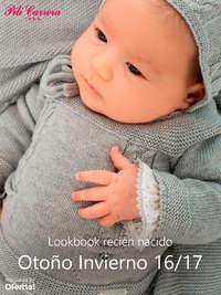 Lookbook recién nacido. Otoño Invierno 16-17