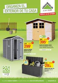 Organiza el exterior de tu casa