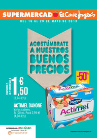 El Corte Ingls: Acostmbrate a nuestros buenos precios