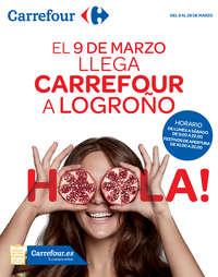 El 9 de marzo llega Carrefour a Logroño