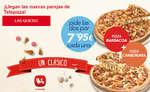 Ofertas de Telepizza, ¡Llegan las nuevas parejas de Telepizza!