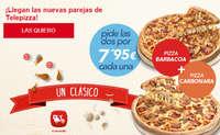 ¡Llegan las nuevas parejas de Telepizza!