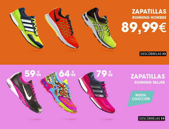 Ofertas de Sprinter, Zapatillas running