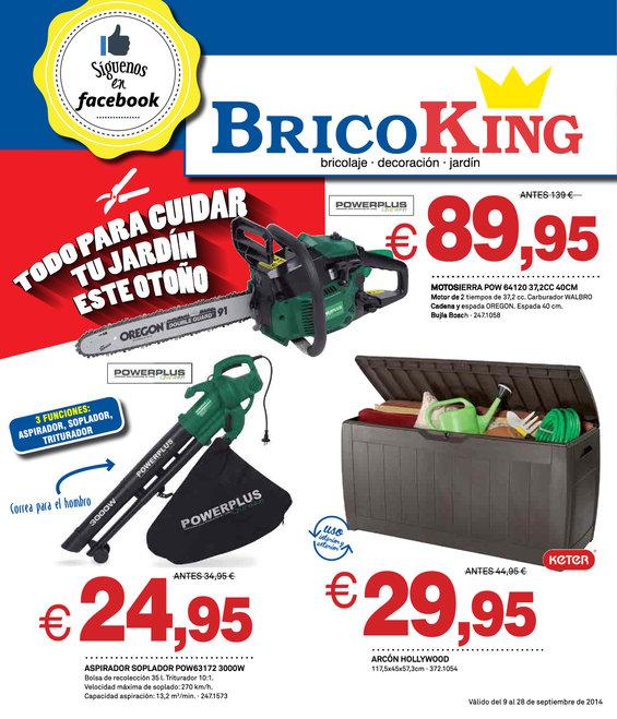 Ofertas de Bricoking, Todo para cuidar tu jardín este otoño