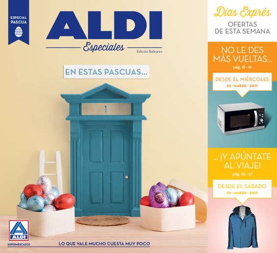 Ofertas de ALDI, En estas Pascuas...