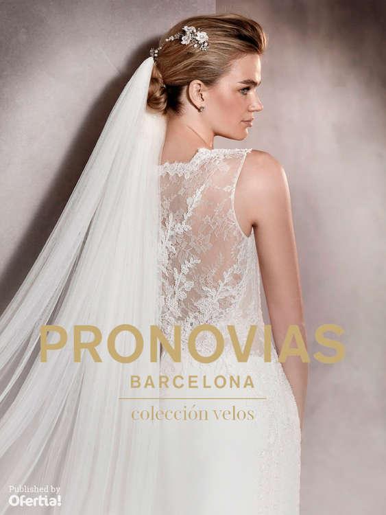 Ofertas de Pronovias, Colección Velos
