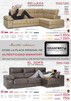 Ofertas de Granfort, El Sofá de los famosos