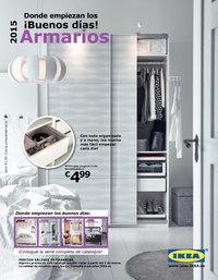 Catálogo IKEA armarios 2015