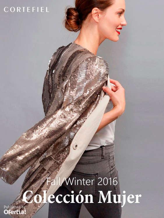 Ofertas de Cortefiel, Fall/Winter 2016 - Colección Mujer