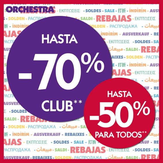 Ofertas de Orchestra, Rebajas Orchestra