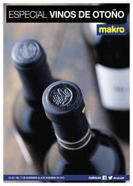 Especial vinos de Otoño