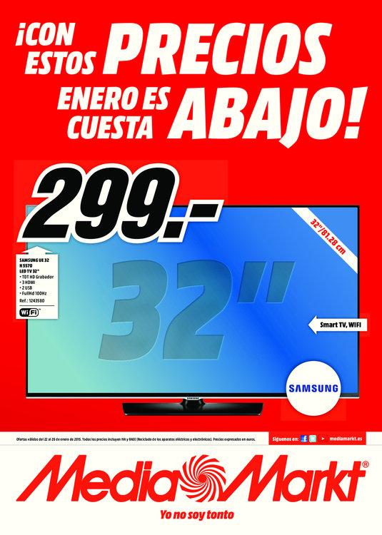 Ofertas de Media Markt, ¡Con estos precios Enero es cuesta abajo!