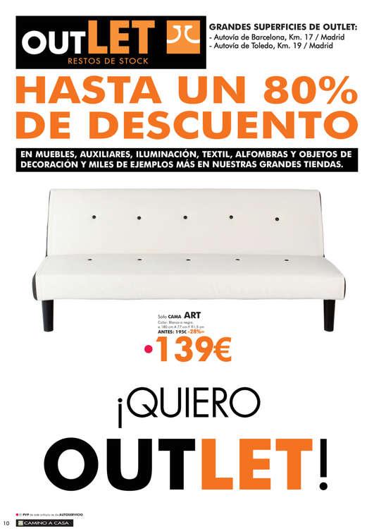 Comprar sof s cama barato en madrid ofertia - Outlet camino a casa ...