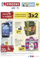 Ofertas de Eroski, 3x2 a centenars de productes