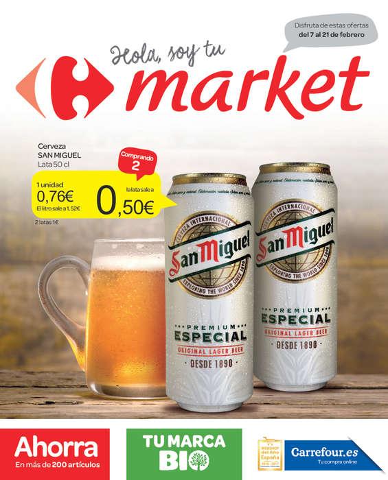 Carrefour market ofertas cat logo y folletos ofertia - Ofertia folleto carrefour ...
