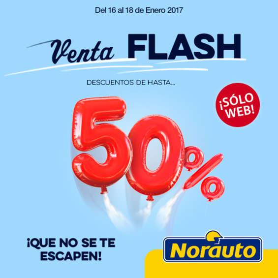 Ofertas de Norauto, Venta FLASH. Descuentos de hasta 50%