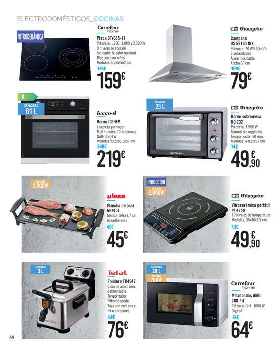 Comprar plancha cocina barato en cartagena ofertia for Bascula cocina carrefour