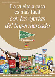 La vuelta a casa es más fácil con las ofertas del Supermercado