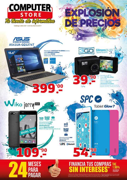 Ofertas de Computer Store, Explosión de precios