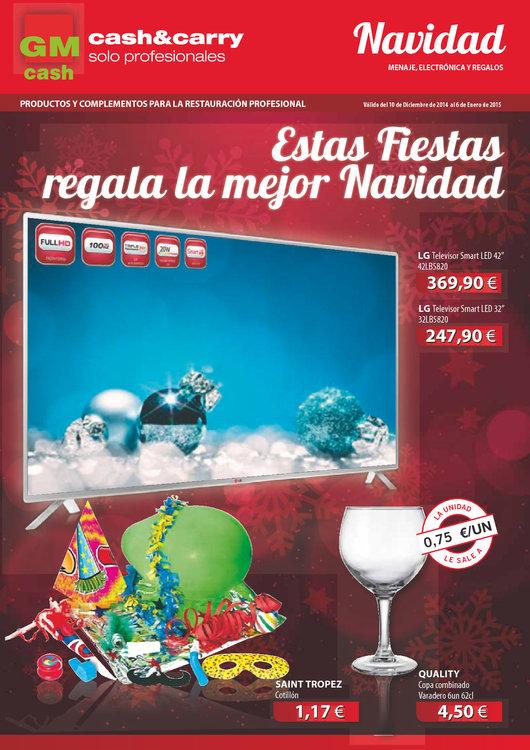 Ofertas de GM Cash & Carry, Estas fiestas regala la mejor Navidad