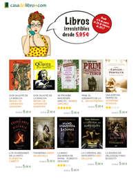 Libros irresistibles desde 5,95€