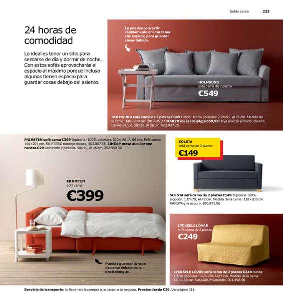 Comprar sof s cama barato en vic ofertia for Donde venden sofas baratos