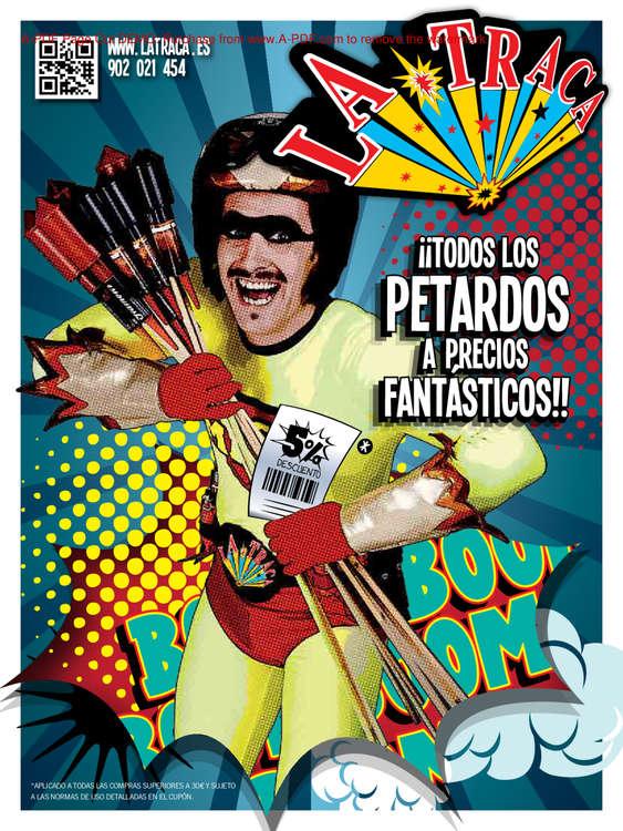 Ofertas de La Traca, ¡¡¡Todos los petardos a precios fantásticos!!!