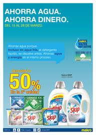 Ahorra agua, ahorra dinero