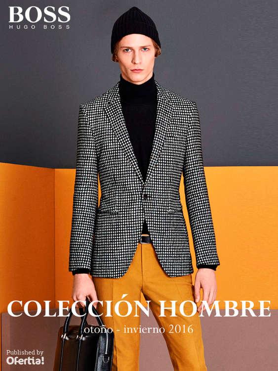 Ofertas de Hugo Boss, Colección Hombre - Otoño-Invierno 2016
