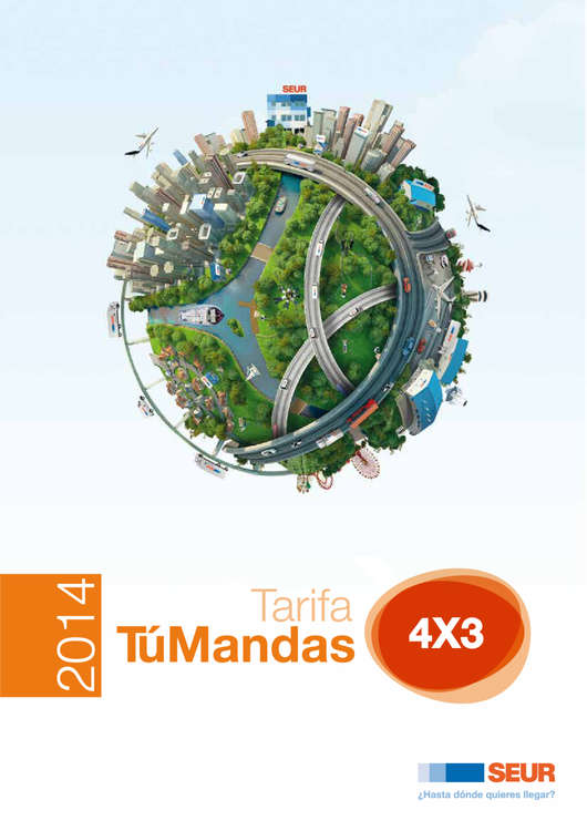 Ofertas de SEUR, AF TARIFA TM 4X3 ESP 2016