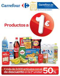 Productos a 1€
