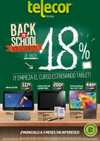 Ofertas de Telecor, Súper Descuentos Back to School