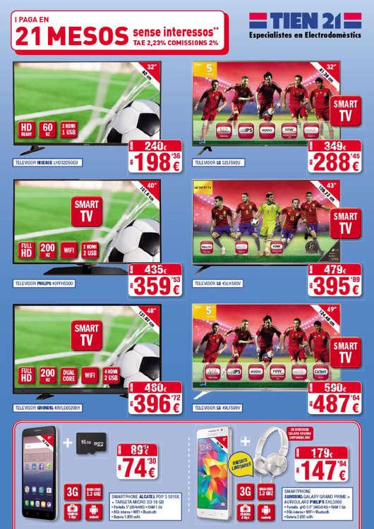 Ofertas de Tien21, Selecció Top 21 Primavera