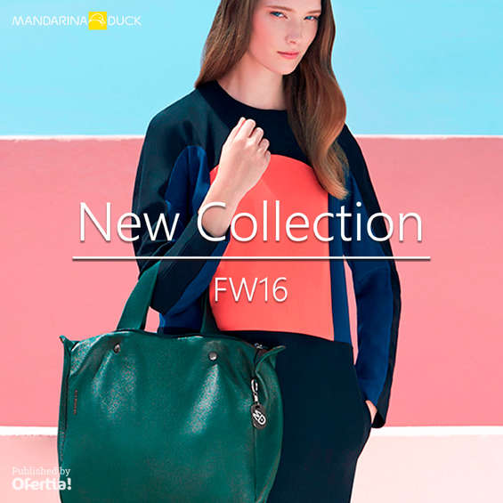 Ofertas de Mandarina Duck, New Collection FW16