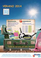 Ofertas de Grupo Cofedas, Verano 2014
