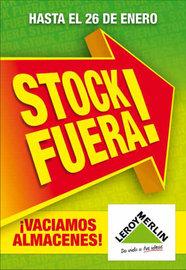 Stock Fuera ¡Vaciamos almacenes!