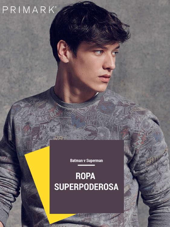 Ofertas de Primark, Ropa Superpoderosa - Colección Hombre