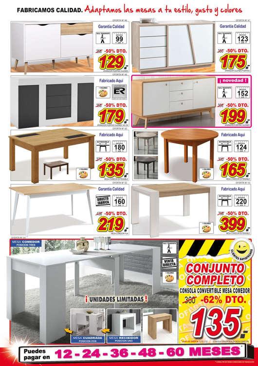 Comprar mesas de comedor barato en valladolid ofertia for Ofertas muebles valladolid