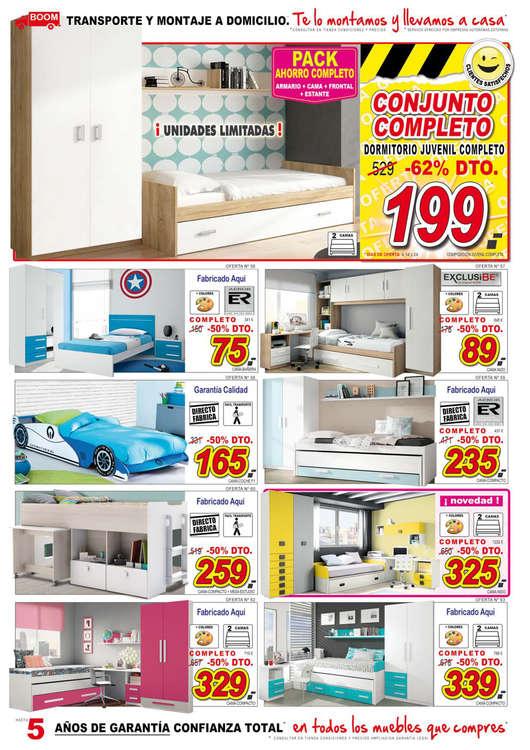 Comprar dormitorio juvenil barato en vitoria gasteiz ofertia for Muebles boom burgos