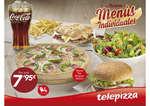 Ofertas de Telepizza, Nuevos menús individuales