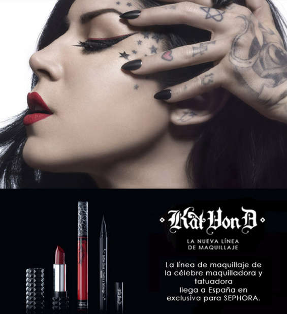 Ofertas de Sephora, Kat Von D