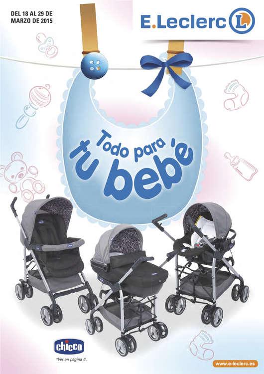 Ofertas de E. Leclerc, Todo para tu bebé